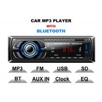 Buy cheap Hands Free Calls Bt Car Stereo Car Stereo Head Unit With Bluetooth 3 Band Radio from wholesalers