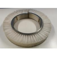 Wholesale Coil Coating Lines Nylon Roller Brush Interlock Scrubber Brush 350 Mm OD from china suppliers