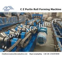 Wholesale C Z Purlin Plastic Forming Machine High effiency with touch screen from china suppliers