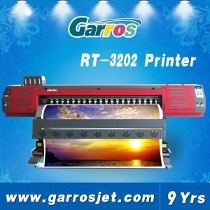 Wholesale digital vinyl printer 3.2m pvc flex banner printer machine with dx7 head from china suppliers
