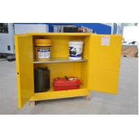 Wholesale Flammable Chemical Safety Storage Cabinets 22 Gallon With Single Door from china suppliers