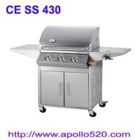 China 3Burner Gas Grills Stainless on sale
