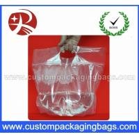 Wholesale Laminated Custom Printing Plastic Ziplock Waterproof Transparent Bags With Bottom gusset from china suppliers