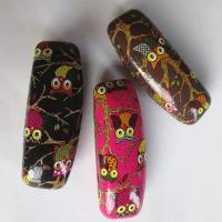 Hot selling printed glasses cases-Owl design printed