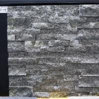 Quality Natural stone , Granite Stacked Stone , Grey Granite Stone Wall Rockface Cladding for sale