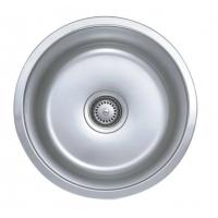 Wholesale Custom Round Single Bowel 18 Gauge Stainless Steel Sink For Kitchen from china suppliers