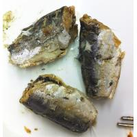 China canned mackerel in sunflower oil on sale