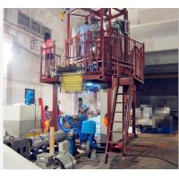 Buy cheap Plastic Blown Film Extrusion Machine 70 - 80kg / H Output 1000mm Width from wholesalers