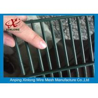Wholesale 358 High Security Wire Netting Fence / Anti Climb Wire Mesh Security Fencing from china suppliers