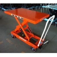 Movable Manual Hydraulic Table Cart Stationary Electric Platform For Lab