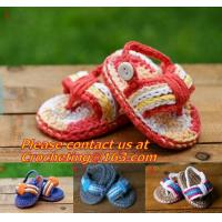 Wholesale Slippers Baby crochet shoes crochet Cotton Crochet monkey Slippers Houseshoes pink green from china suppliers