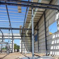 Wholesale Prefabricated Steel Structure for Industrial Application with strong strength from china suppliers
