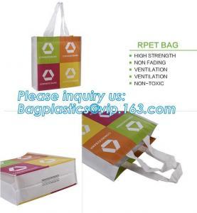 China Logo printing OEM non woven bag with screen print, Reusable non woven polypropylene bag pp non woven bag, company, llc on sale