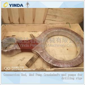 China Triplex Mud Pump Crankshaft Connection Rod Conveying Mud Flushing Fluids on sale