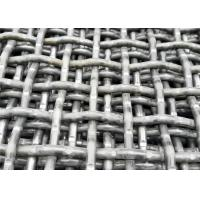 China High Tensile Steel Self Cleaning Screen Mesh For Stone Crusher Mining Industry on sale