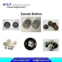 Buy cheap Zamak 5 zinc alloy die casting metal button die casting machine from Wholesalers