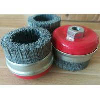 Wholesale Industrial Silicon Carbide Nylon Filament Cup Brush M14 * 2.0 Nut Size from china suppliers