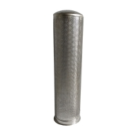 Wholesale Stainless Steel Punching Plate 40um Basket Strainer Filter from china suppliers