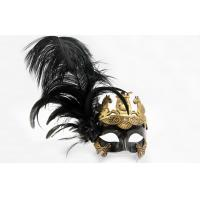 Wholesale Half Face Feather Masquerade Mask from china suppliers