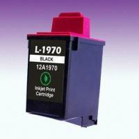 Wholesale Ink Cartridge 12A1970, Compatible with Lexmark Inkjet Printers from china suppliers