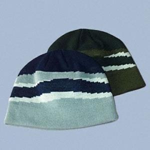 Buy cheap wool skull cap knitted snow cap winter sport cap from Wholesalers