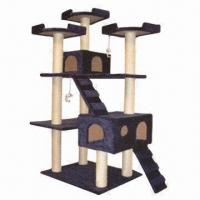Wholesale Cat Tree for Scratching, Climbing, Sleeping and Exercising, Easy-to-assemble from china suppliers
