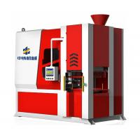 Automatic horizontal parting flaskless green sand molding machine and foundry molding line for making foundry pieces