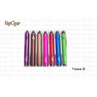 Buy cheap Purple Vision II Vision E Cig 3.3V - 4.8V Twist 1600mAh Battery from wholesalers