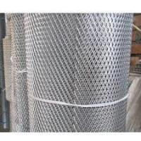 Wholesale Powder Coating Aluminum Expanded Metal Mesh For Facade Cladding / Ceiling from china suppliers