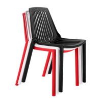 China China cheap plastic wire fast food dining chair on sale