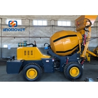 Buy cheap 4 Batch/H 5cbm Self Loading Concrete Mixer For Building House from wholesalers