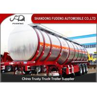 Wholesale 47000 L Stainless Steel Tanker Trailers Single Compartment 12000*2500*4000mm from china suppliers
