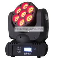 Wholesale Best selling 7x12W OSRAM RGBW 4in1 Beam LED Moving Head Stage Lighting from china suppliers