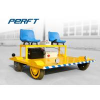 Buy cheap Lithium Battery Pack Powered Rail Transfer Cart with Seats , Running Speed 0 - 30 km/h from wholesalers