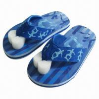 Wholesale 2013 Hot selling Kid's Beach Sandals, Fabric Upper and EVA Outsole, Available in Various Colors from china suppliers