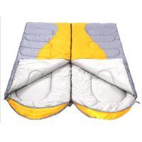 Wholesale Envelope splice double custom printed hollow cotton sleeping bag from china suppliers