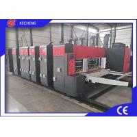 China KC-M Series  4 Color Top Printing  Flexo Printer Slotter Die Cutter Economic Type 1224 on sale