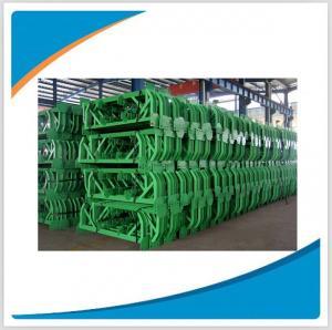Wholesale Belt conveyor trough idler frame/carry bracket/return bracket from china suppliers