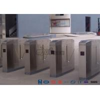 Wholesale Cold Rolled Steel Luxury Flap Barrier Gate , Pedestrian Access Control Turnstile from china suppliers