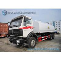 Wholesale North Benz 6x4 Chemical Tanker Truckr Carbon Steel  22000 L Fuel Tanker Truck from china suppliers