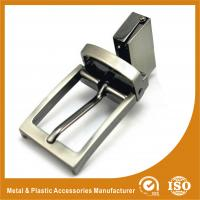 Buy cheap 30MM Reversible Zinc Alloy Metal Belt Buckle Pearl Nickle Plated GLT-13002 from Wholesalers