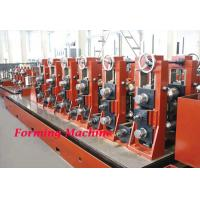China Straight Seam High Frequency Cold Roll Forming Machine / Square Tube Making Machine on sale