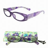 China Colorful Reading Glasses with Spring Hinge on sale