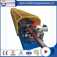 Wholesale Blue PPGI Zhiye Plc Controlling Colored Steel Steel Downpipe Roll Forming Machine from china suppliers