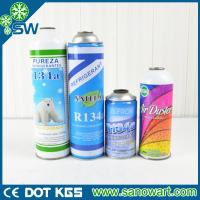 Wholesale 99.9% PURITY refrigerant R134a can packing for auto a/c from china suppliers