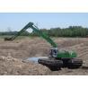 Heavy Equipment Excavator , 32 ton 0.8 CBM Bucket Hydraulic Amphibious Dredge Excavator