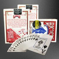 Buy cheap USA Bicycle Jumbo Paper Gambling Props / Poker Size Two Jumbo Index Playing Cards from wholesalers