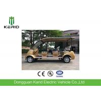 4kW Electric Sightseeing Car Max Speed 30km Suits For Public Area Transportation