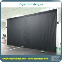 Custom Pipe And Drape Adjustable Backdrop Stands Curtain