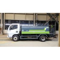 China 5CBM Capacity Water Tank Truck Water Hauling Truck With 2870CC Engine on sale